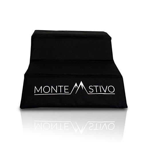 Monte Stivo Expedition | Outdoor-Sitzmatte 30x40 cm Sitzfläche für Kinder und Erwachsene – 4-Fach faltbar | Zum Wandern