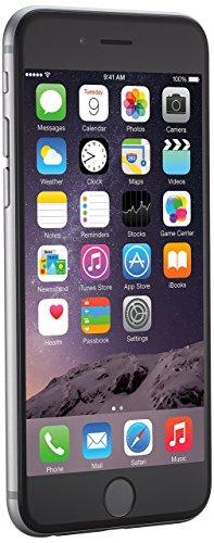 Apple iPhone 6, 4,7' Display, SIM-Free, 16 GB, 2014, Space Grau (Generalüberholt)