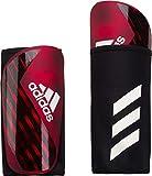 adidas Erwachsene X PRO Shin Guards, Active red/Black/Off White, XL