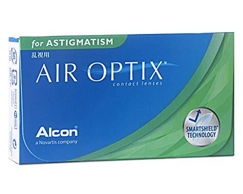 Air Optix for Astigmatism Monatslinsen weich, 6 Stück / BC 8.7 mm / DIA 14.5 mm / CYL -1.25 / ACHSE 180 / + 4.5 Dioptrien