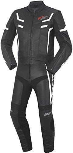 Bogotto ST-Evo Lederkombi zweiteilig, Farbe schwarz-weiss, Größe 52
