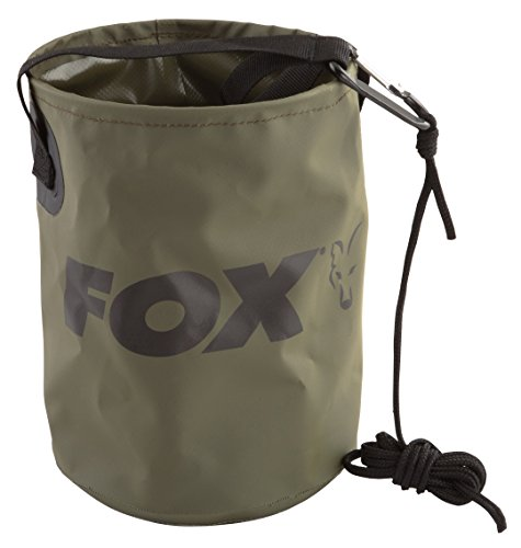 Fox Collapsible Water Bucket Falteimer, faltbarer Eimer, Angeleimer, Wasserbehälter