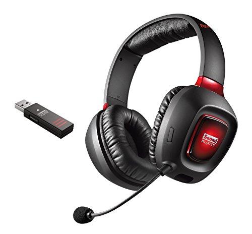 Creative Sound Blaster Tactic3D Rage Wireless V2.0 Gaming Headset schwarz für PC, Mac und PS4