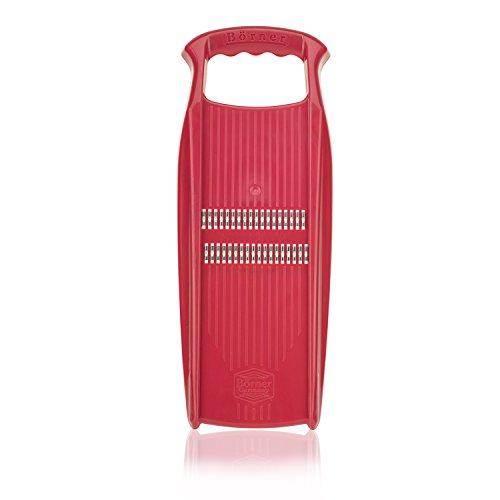 Börner Roko PowerLine in Rot - Julienneschneider für Rohkost vom Feinsten
