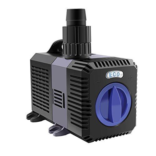 EverBest4U ECO Teichpumpe Pumpe Filterpumpe Bachlaufpumpe Wasserpumpe 30W 4500L/H …