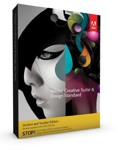Adobe Design Std CS6 dt. Mac -Student/Teacher