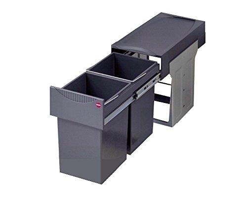 Hailo 3666101 Abfallsammler TA Swing 30.2/30 für Schränke ab 300 mm Breite mit Drehtür