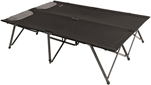 Outwell Posadas Camping-Bett Double, Black, 132 x 192 x 45 cm