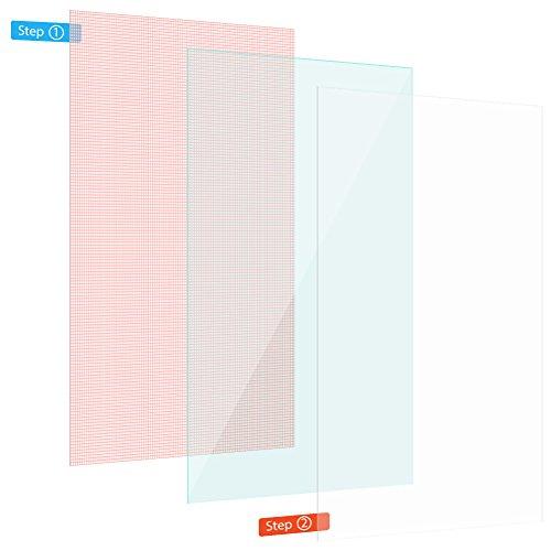 Display Schutz Folie Tablet 3x Universal Displayschutz bis 10 Zoll Schutzfolie