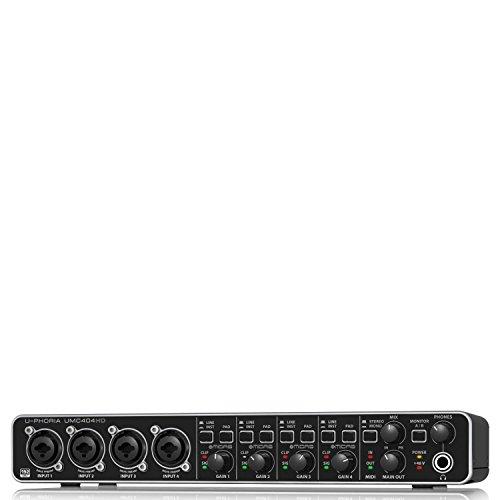 Behringer UMC404HD U-Phoria USB Audio und 'MIDI' Interface