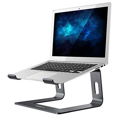 Laptop Ständer, Nulaxy Ergonomisch Notebook Stand : Universal PC Halter, Halterung, Riser für Dell, HP, Samsung, Lenovo alle 10'~17' Notebooks - Grau