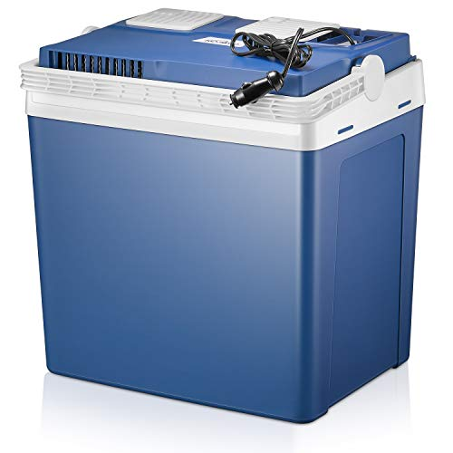 Kealive Elektrische Kühlbox, Thermoelektrische Kühlbox mit Kühl- und Warmhaltefunktion - 22.4 Liter,12 V für Auto und Lkw