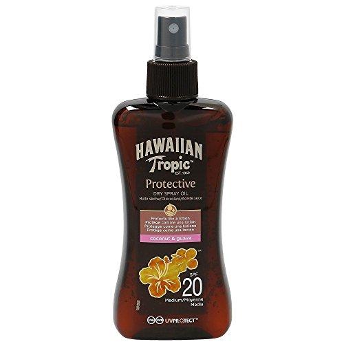 Hawaiian Tropic Protective Dry Spray Oil LSF 20, 200 ml