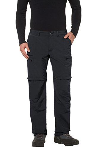 Vaude Herren Trekkinghose Farley ZO IV, black, 52, 3869
