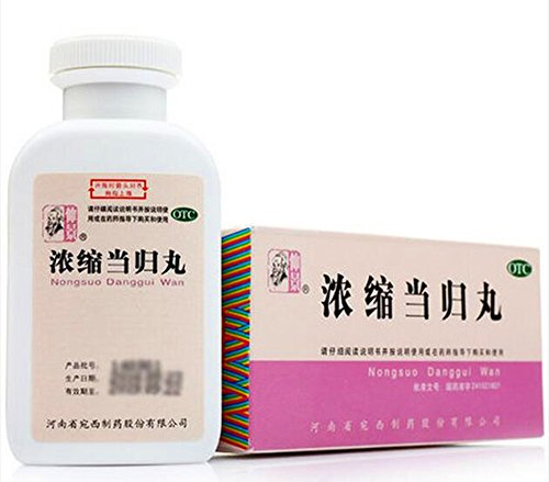 Concentrated Dong Quai Pill (200 Pills) Dang Gui Wan Angelica Blood Herb Tonic Pack of 3