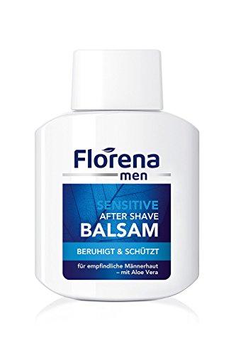 Florena Men Sensitive After Shave Balsam, 1er Pack (1 x 100ml)