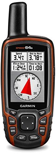 Garmin GPSMAP 64s Navigationshandgerät, barometrischer Höhenmesser, GPS und GLONASS Kompatibilität, Live Tracking, Smart Notification, 2,6 Zoll (6,6cm) Farbdisplay