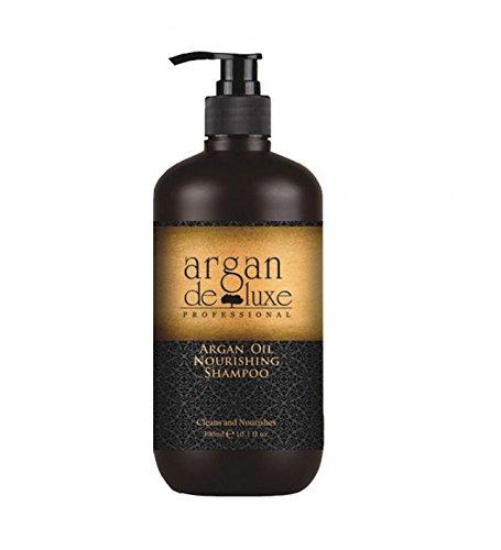 Arganöl Shampoo in Friseur-Qualität  stark pflegend  Geschmeidigkeit, Glanz, toller Duft  Argan DeLuxe, 300ml