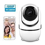 ÜberwachungsKamerainnenwlanhandy,CACAGOO1080PWLANIPKameraBabyphonemit2WegeAudio