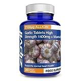 Knoblauch-Tabletten extrastark 1400 mg, 360 Tabletten.