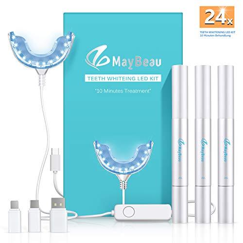 Teeth Whitening Kit Bleaching Gel - Zahnaufhellung - für Weisse Zähne Bleaching Zähne Zu Hause