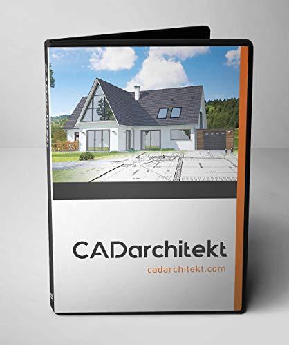 CADarchitekt - 2D Grundrisse / 3D CAD Software - Architekturprogramm und Hausplaner Software für Bauherren mit Gartenplaner und Raumplaner
