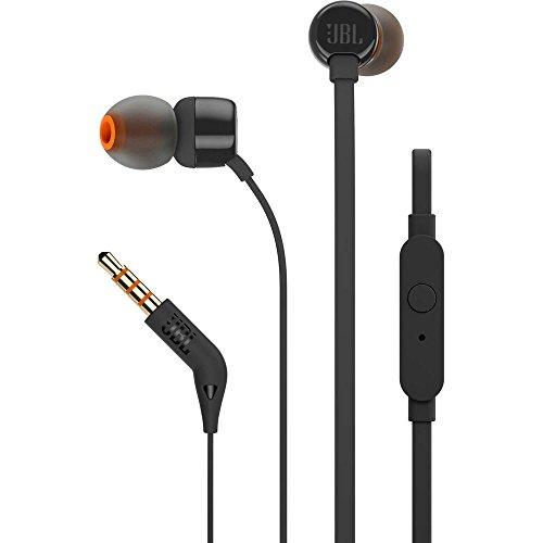 JBL T110In-Ear-Kopfhörer mit Steuerung und Mikrofon schwarz