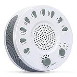 Manli Sleep White Noise Machine Beruhigende Natürliche Geräusche gegen Schlafstörung Weißes Rauschen Maschine 9 Natürlicher Sounds Schlafhilfe Gerät Entspannungsgerät Sound Machine Sleep Baby Kinder