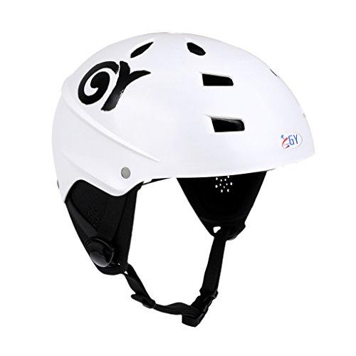 perfk Wassersporthelm Sicherheitshelm Kajakhelm Kanuhelm Wakeboard Helm Helmet