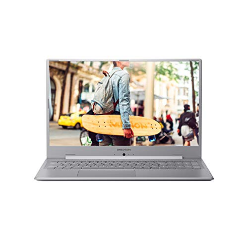 MEDION E17201 43,9 cm (17,3 Zoll) Full HD Notebook (Intel Celeron N4000, 4GB DDR4 RAM, 1TB HDD, Akku Schnellladefunktion, Windows 10 Home)