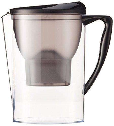 AmazonBasics Wasserfilter 2,3 Liter - Schwarz