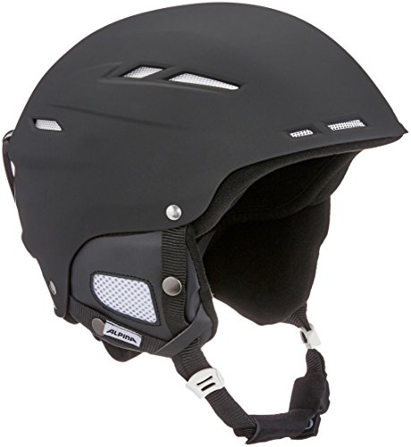 ALPINA Biom Skihelm, Black Matt, 58-62 cm