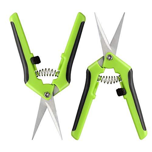 OUNONA 2 stücke Hand Gartenschere Zweigschere Kunststoff Pflanzenschere Werkzeug für Blume Baum