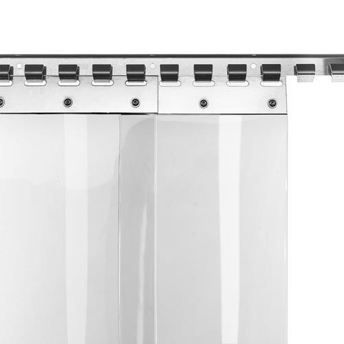 PVC-Lamellenvorhang Streifenvorhang Lamellen 20cm Br 1,0m Br. 2,0m H.