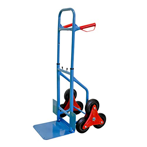 GEORGES Treppensackkarre Transportkarre mit 6 Rädern belastbar bis ca. 200kg