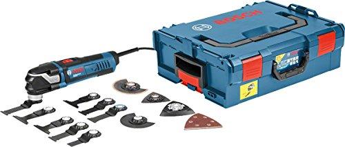 Bosch Professional Multi-Tool GOP 40-30 (16 tlg Zubehörset, Starlock Plus, L-BOXX, 400 Watt)
