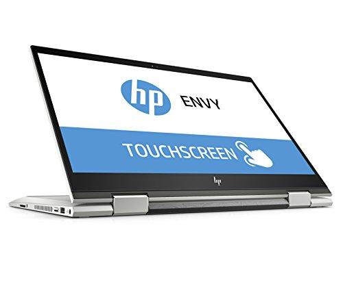 HP ENVY x360 15-cn1001ng 39,6 cm (15,6 Zoll Full HD IPS Touch) Convertible Laptop (Intel Core i5-8265U, 8GB DDR4 RAM, 256GB SSD, Intel UHD Grafik, Windows 10 Home) silber