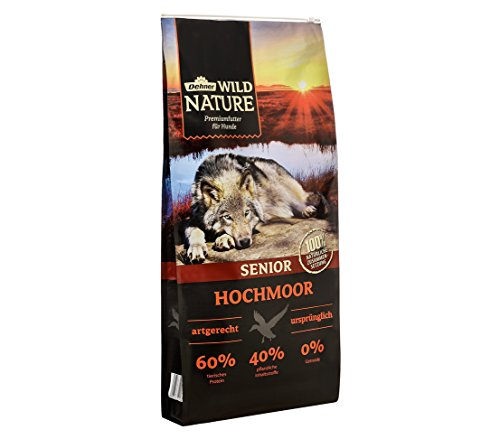 Dehner Wild Nature Hundetrockenfutter Senior, Hochmoor, 12 kg