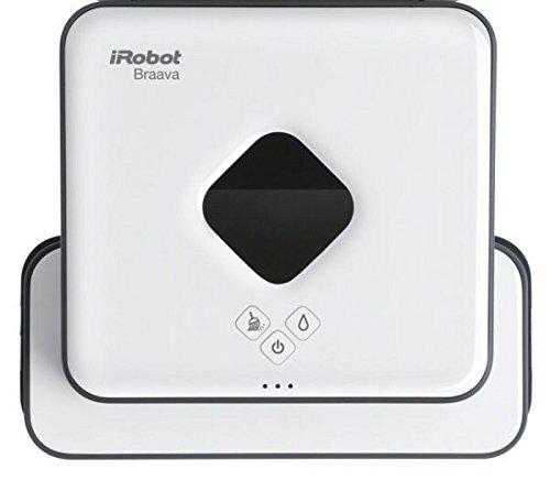 iRobot Braava 390t Wischroboter (für mehrere Räume und große Flächen, reinigt Flächen bis zu 92,9 m²) weiß