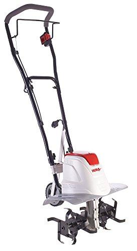 IKRA Elektro Bodenhacke Kultivator FEM 1500, flexible Arbeitsbreite von 17-45cm, Arbeitstiefe bis zu 23cm, starke 1500 W, ergonomisch und klappbar