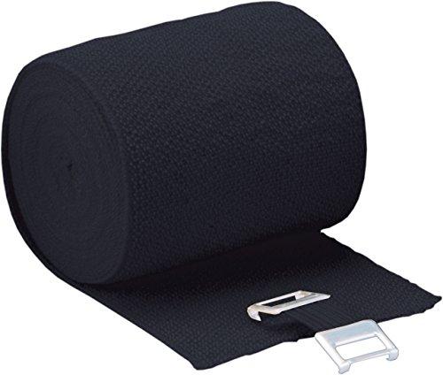 Höga Lastic-Color, schwarz, 8 cm x 5 m gedehnt, dauerelastische Idealbinde, 1er Pack (1 x 0.047 kg)
