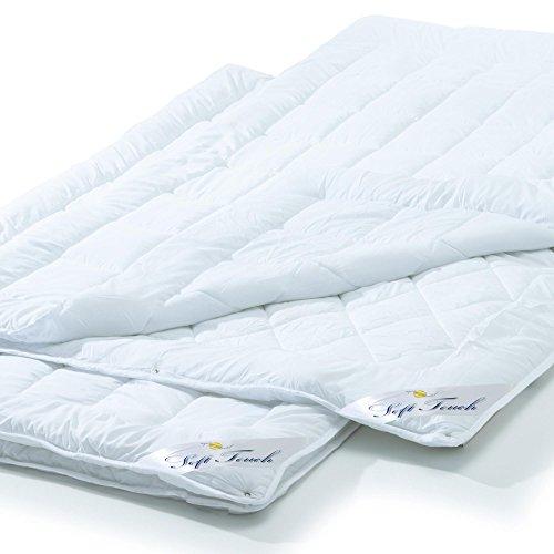 aqua-textil 2er Set, 4 Jahreszeiten Bettdecke 135x200 cm Steppdecke atmungsaktiv kochfest, Ganzjahres Steppbett für Winter und Sommer Soft Touch 0010956