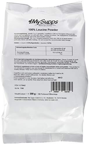 My Supps 100% Leucine Powder, 300 g