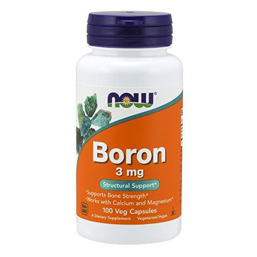 Now Foods Boron 3 mg 100 capsules