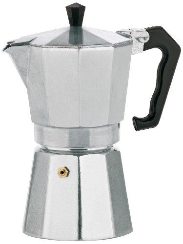 Kela 10591 Espressokocher, 6 Tassen, Aluminium, Italia