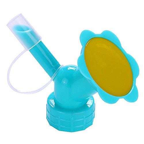 RENZHEN 2In1 Kunststoff Sprinklerdüse Für Blumengießer Flaschenbewässerung Sprinkler Tragbare Haushalt Topfpflanze Waterer,1