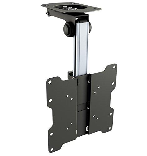 RICOO D0122 Fernseher Deckenhalterung Drehbar Klappbar,  Neigbar Schwenkarm Bildschirm Decken Halterung Dachschräge Fernsehhalterung, VESA 200x200