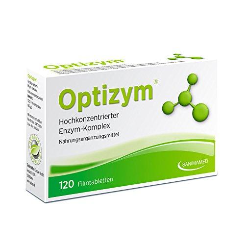 Optizym - Hochkonzentrierter Enzymkomplex mit einzigartiger 6-fach Kombination - Stark gegen Schmerzen, Entzündungen & Gelenkbeschwerden (120 Filmtabletten)