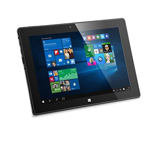 CSL Panther Tab 10 USB 3.1 inkl. Windows 10 - 10.1 Zoll (25,6cm) Tablet, Intel QuadCore CPU 4x 1844 MHz, 2GB RAM, 32GB SSD