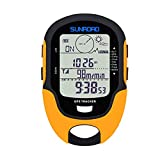 Irfora Multifunktions LCD Digital GPS Höhenmesser Barometer Kompass Tragbare Outdoor Camping Wandern Klettern Höhenmesser mit LED Taschenlampe FR510